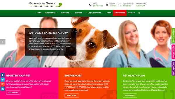Drugi primer dizajna spletne strani